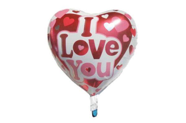 """""""I love You"""" Baskılı Folyo Balon"""